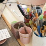 Emily Reinhardt paint brushes