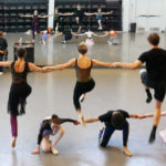 Devon leads the KCB II dancers in rehearsal for Romeo and Juliet.