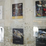 Posters commemorating past Kansas City Ballet productions line the walls of the office.