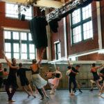 KCB II dancers rehearsing for Romeo & Juliet.