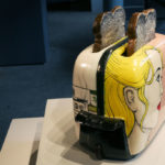 Ceramic toaster and toast made by Shalene Valenzuela
