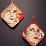 Ceramic potholders made by Shalene Valenzuela