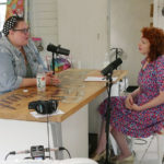 Fabric designer Tula Pink chats with host Betsy Blodgett