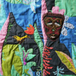 Nedra's quilt, Spirits of the Forest.