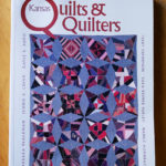 The cover of Kansas Quilts & Quilters, which features an article about Nedra and her Old Quindaro History quilt.
