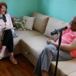 Host Betsy Blodgett interviews textile artist Nedra Bonds.