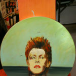 Seth Smith's painting of David Bowie.