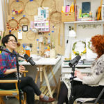 Host Betsy Blodgett interviews artist Grace D. Chin.