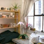A corner of Evie Englezos' studio.