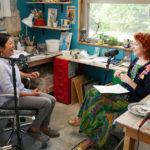 Host Betsy Blodgett interviews Momoko Usami.