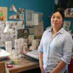Ceramicist Momoko Usami in her studio.